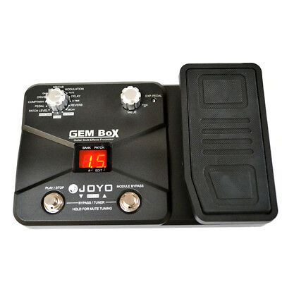 JOYO GEM BOX Guitar Multi Effects Pedal with Drum Machine