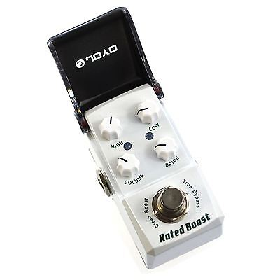 JOYO JF-301 Rated Clean Boost Ironman Mini Guitar Effects Pedal