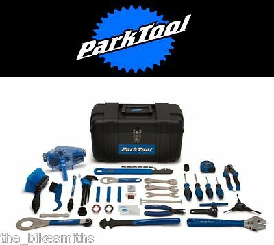 Park Tool AK-2 Advanced Mechanic Bicycle Tool Kit 40+ Pieces with Portable Box