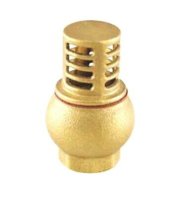"3/4"" Inch NPT Female Threaded Brass Gate Valve Water Shut Off Inline 2 Port Flow"