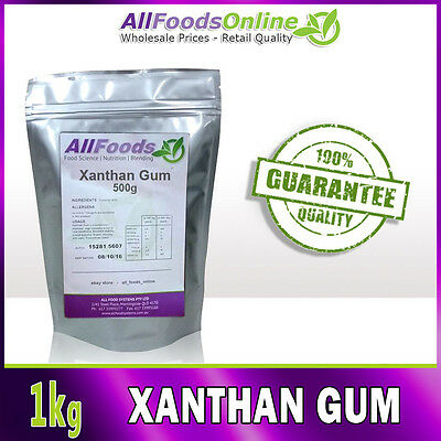 Xanthan Gum - Food Stabilizer - Thickener - Catering - 1kg
