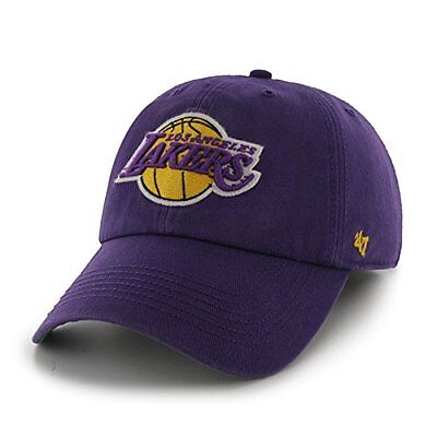 NBA Los Angeles Lakers 47 Franchise Fitted Hat, Purple, Small