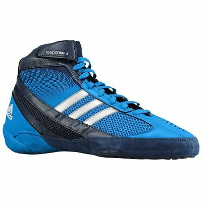 NEW Men's Adidas Response III Boxing Shoes Size: 11.5 Color: Blue