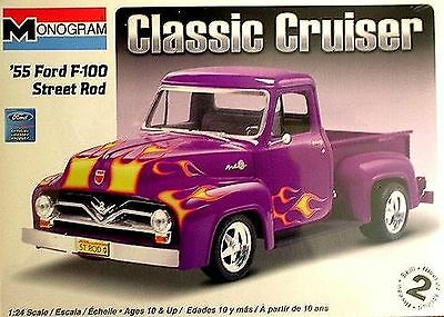 Revell '55 Ford F-100 Street Rod Plastic Model Kit Revell