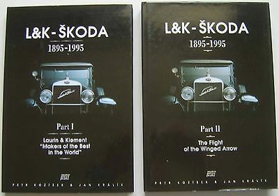 L&K - Skoda 1895-1995 in 2 Volumes Laurin & Klement & Flight of the Winged Arrow
