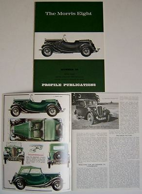 Morris 8 Eight Profile Publication Number 52 1935-48 Pre Series, Series I II & E