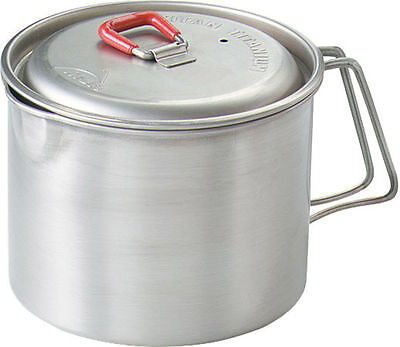 MSR Titan Kettle Lightweight Titanium Camping Cooking Pot Motorcycle Biker