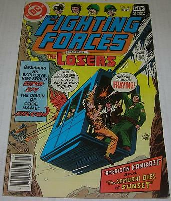 OUR FIGHTING FORCES #181 (DC Comics 1978) THE LOSERS (FN+) LAST ISSUE