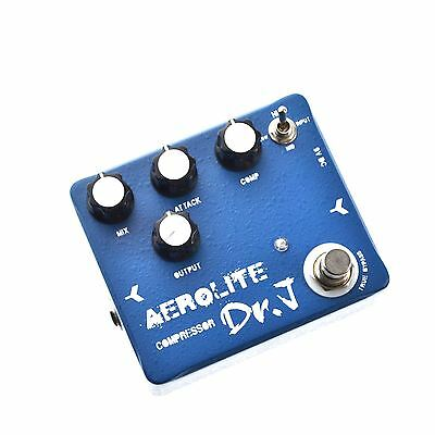 Dr.J D-55 Aerolite Compressor Boost Guitar Effects Pedal by JOYO