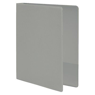 Wilson Jones 368 Basic Round Ring Binder, 1 1/2 Inch, Gray (W368-34NM)
