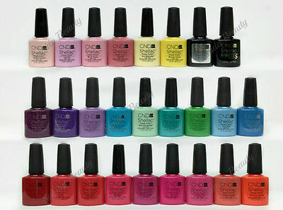 Gel Nail Polish CND 0.25oz - Shellac- Series 1 Choose any Color
