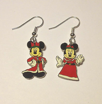 Mickey Mouse Earrings Minnie Mouse Charms Mickey Minnie King Queen Mix Match