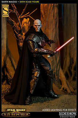 Sideshow Darth Malgus EXCLUSIVE figure. SEALED