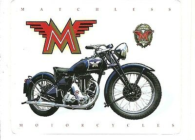 MATCHLESS  MOTORCYCLE Sticker Decal