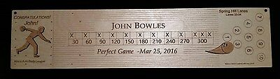 Custom Bowling Awards and Gifts