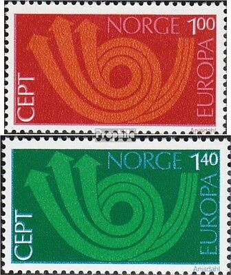 Norway 660-661 (complete issue) unmounted mint / never hinged 1973 Europe