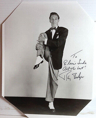 Wizard of OZ Autograph Ray Bolger Signed 8x10 Photo-FREE S&H (LHAU-185)