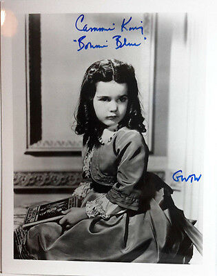 Gone w Wind Autograph Cammie King/Bonnie Signed 8x10 Photo (LHAU-187)
