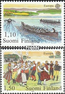 Finland 881-882 (complete issue) unmounted mint / never hinged 1981 Europe: Folk