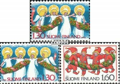Finland 1005-1007 (complete issue) unmounted mint / never hinged 1986 christmas