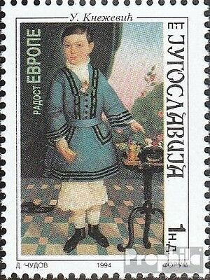 Yugoslavia 2678 (complete issue) unmounted mint / never hinged 1994 European Chi