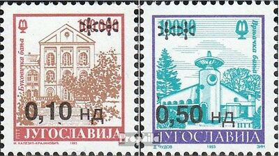 Yugoslavia 2666-2667 (complete issue) unmounted mint / never hinged 1994 clear b