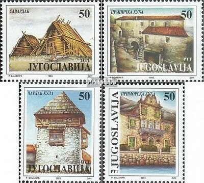 Yugoslavia 2641-2644 (complete issue) unmounted mint / never hinged 1993 Museum