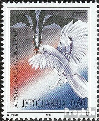 Yugoslavia 2714 (complete issue) unmounted mint / never hinged 1995 End of 2. Wa