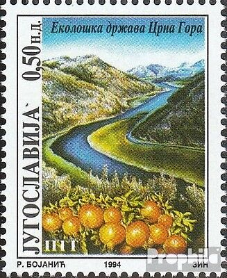 Yugoslavia 2669 (complete issue) unmounted mint / never hinged 1994 Environment