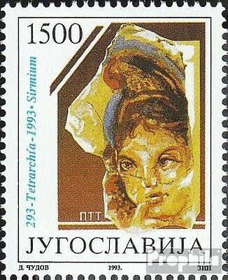 Yugoslavia 2586 (complete issue) unmounted mint / never hinged 1993 Diokletianis