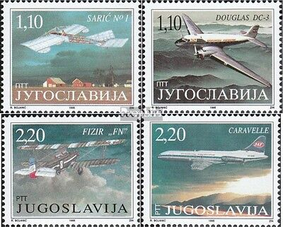 Yugoslavia 2741-2744 (complete issue) unmounted mint / never hinged 1995 museum