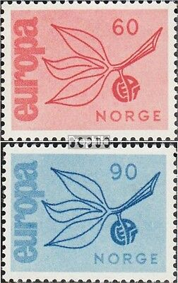 Norway 532-533 (complete issue) unmounted mint / never hinged 1965 Europe