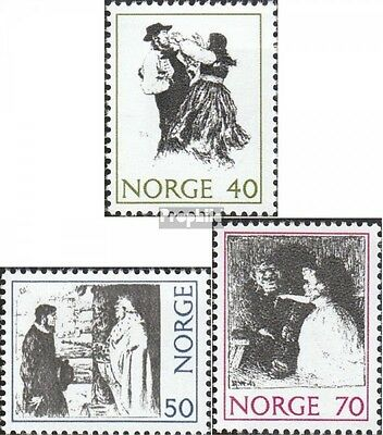 Norway 630-632 (complete issue) unmounted mint / never hinged 1971 Folktales