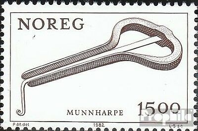 Norway 864 (complete issue) unmounted mint / never hinged 1982 Musical Instrumen