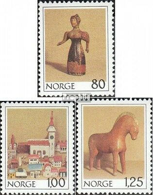 Norway 787-789 (complete issue) unmounted mint / never hinged 1978 christmas