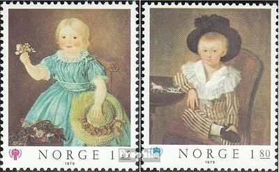 Norway 793-794 (complete issue) unmounted mint / never hinged 1979 Year of Kinof