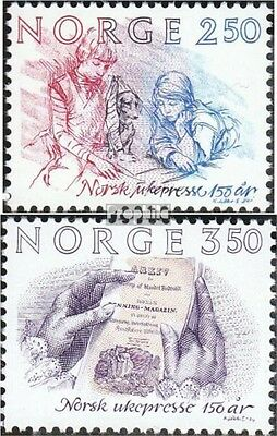Norway 911-912 (complete issue) unmounted mint / never hinged 1984 weekly press
