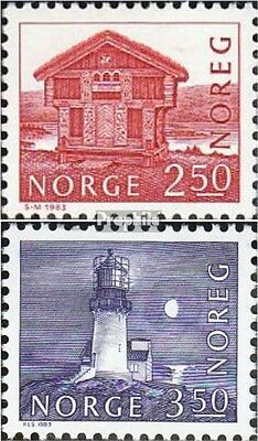 Norway 876-877 (complete issue) unmounted mint / never hinged 1983 Structures
