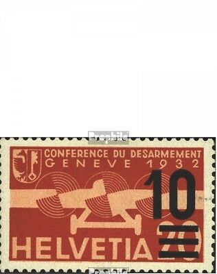 Switzerland 291-293 (complete.issue) with hinge 1936 Airmail