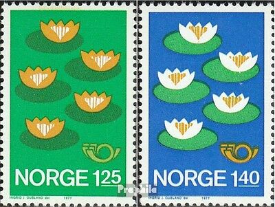 Norway 737-738 (complete issue) unmounted mint / never hinged 1977 Environment