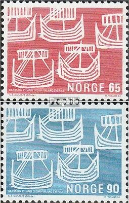Norway 579-580 (complete issue) unmounted mint / never hinged 1969 Postal Admini