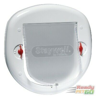 Staywell PetSafe Big Cat / Small Dog Pet Door - White - 280EF