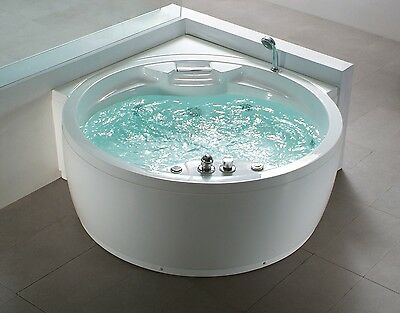 Luxurious, whirlpool, computer-controlled, Jacuzzi, bath tub, heated spa