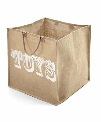 Mamas & Papas - Millie & Boris - Jute Storage Bag