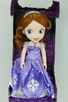 New 1Pcs Cute Princess Sofia The First Salon Doll Toy with Packing Gift V-16