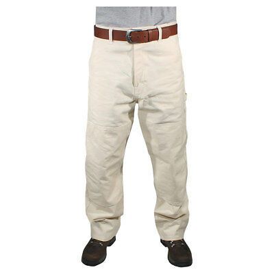 Natural Painters Pants - Reinforced Knees - Natural - 36x34