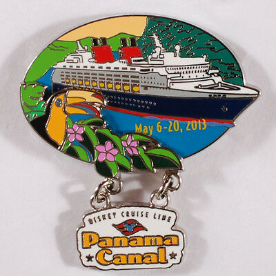 0119X Disney Pin - Disney Cruise Line - Panama Canal, May 6-20, 2013 - LE 2000