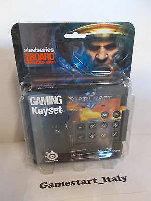Steelseries Starcraft Ii - Limited Edition Keyset For Zboard - Pc - New