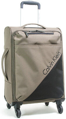 "Calvin Klein Chelsea 25"" Upright Spinner Wheeled Luggage - Tobacco"