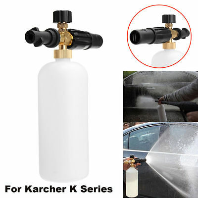 Adjustable Foam Lance Car Pressure Washer Soap Bottle For Karcher K Series